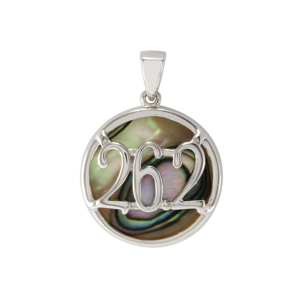 Abalone Marathon Necklace 26.2