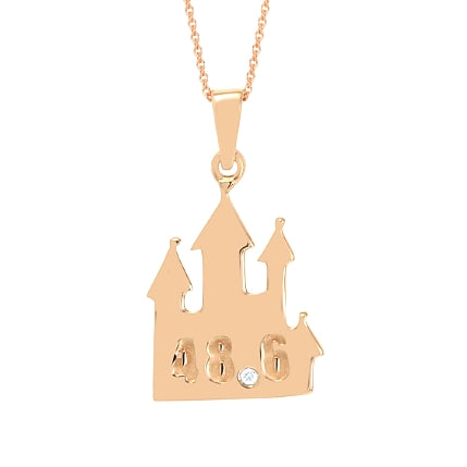 Run Castle Pendant