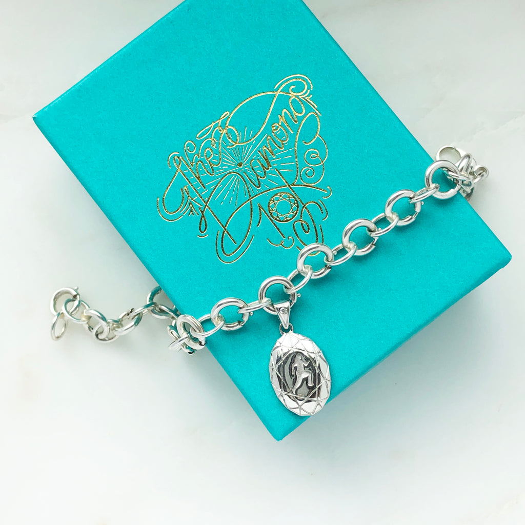 Finisher's Charm Bracelet