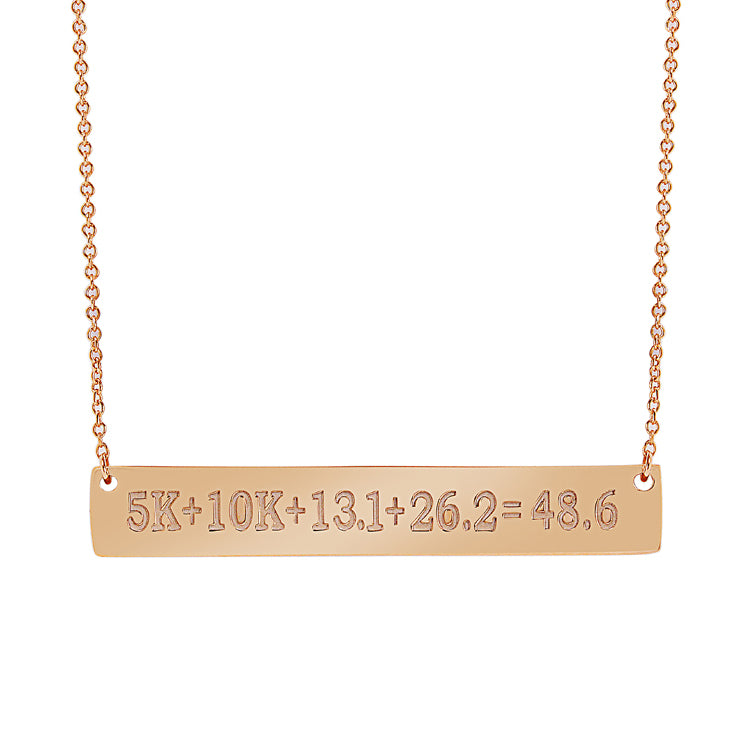 48.6 Bar Necklace