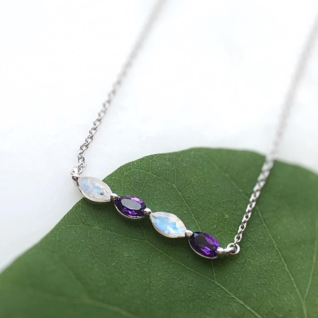 Gemstone Mama Necklace