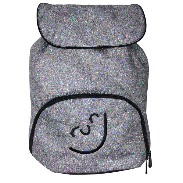 Run Smiley Glitter Backpack