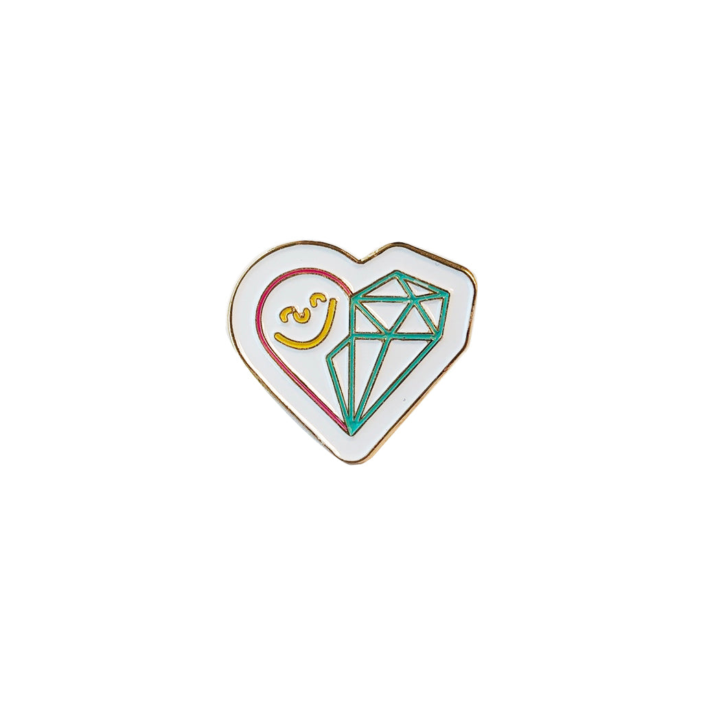 Endure Jewelry Logo Pin