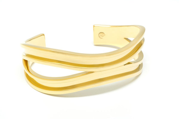 Double Hair Tie Bracelet Gold