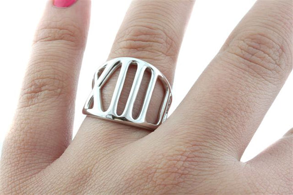 Half Marathon Statement Ring