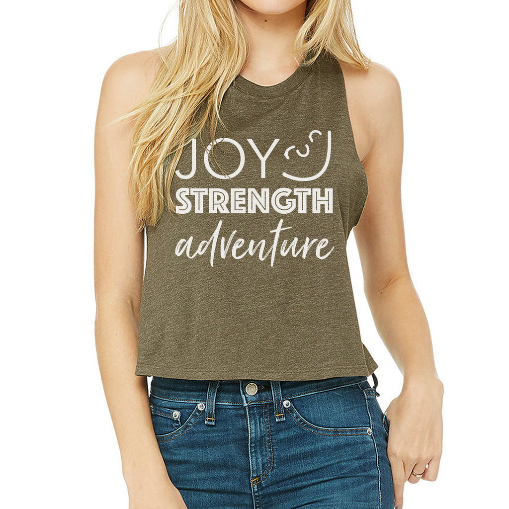 Joy Strength Adventure Crop