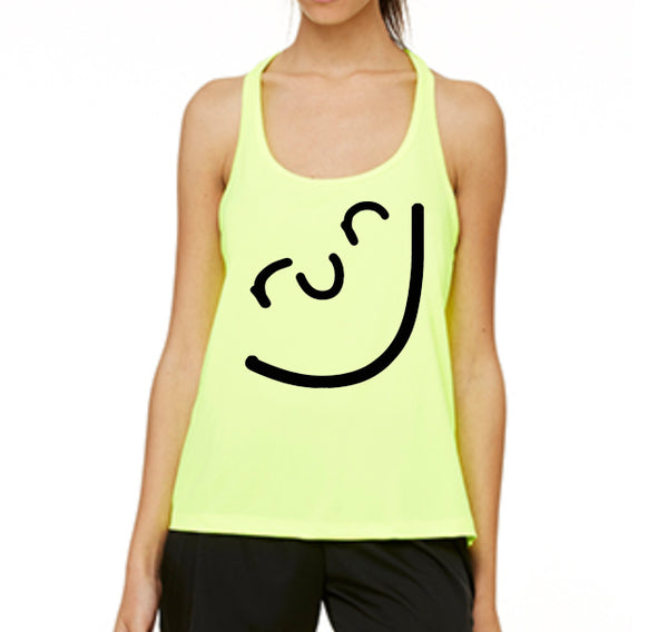 Run Smiley Performance Tank