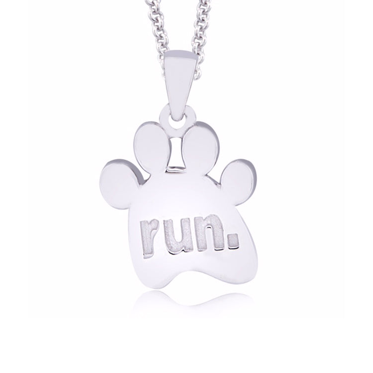 Run Paw Necklace