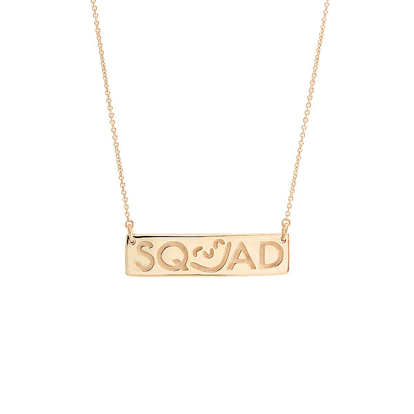 Squad Bar Necklace
