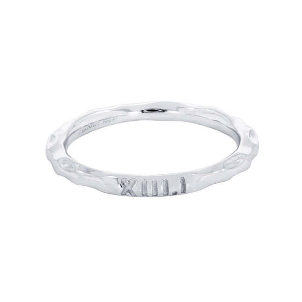 Stackable Half Marathon Ring