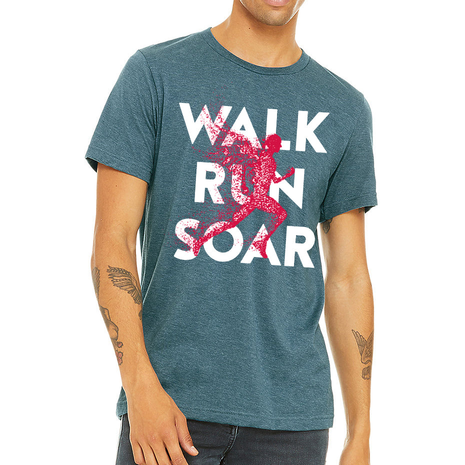 WALK RUN SOAR Unisex T-Shirt