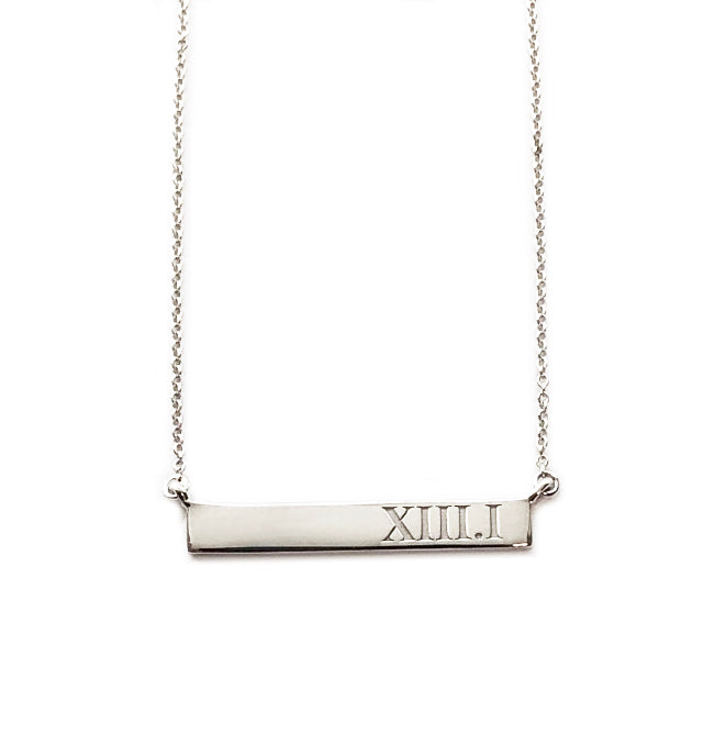 XIII.I Mini Bar Necklace