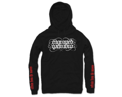 """Refrain From The Masses"" Hoodie"