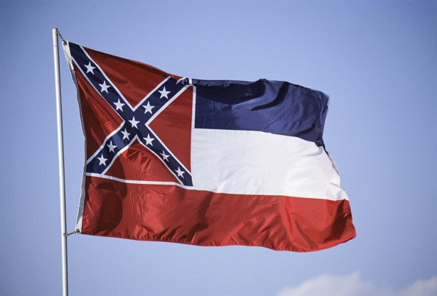 The Mississippi state flag is racist – and unoriginal
