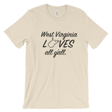 West Virginia Unisex t-shirt