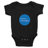I'm from Georgia Infant Bodysuit