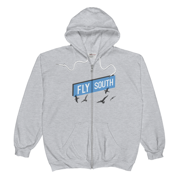 Fly South Unisex Zip Hoodie