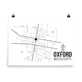 Oxford, MS Photo Paper Poster