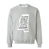Faulkner Quote Sweatshirt