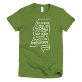 Women's Faulkner Quote t-shirt