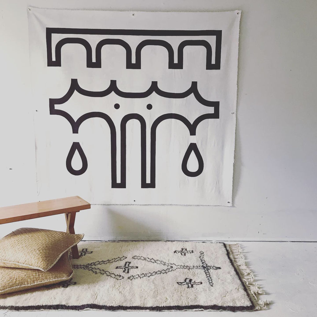 EVERYTHING IS ENERGY HANDWOVEN TAPESTRY