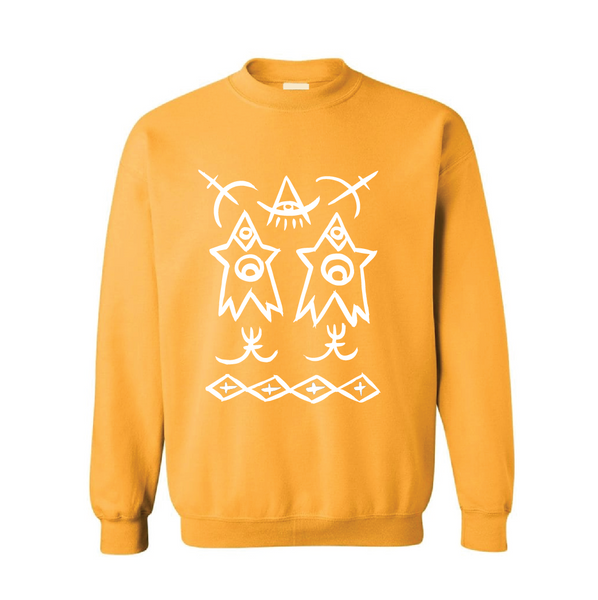 ADULT Celebrated Purpose Sweatshirt - Mustard