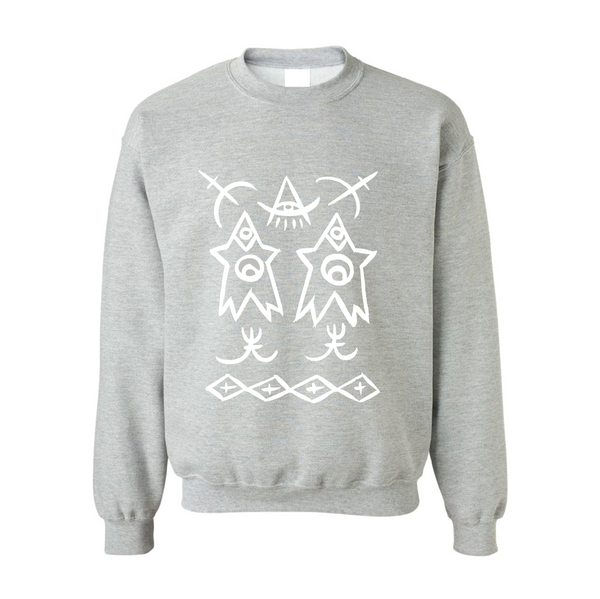KIDS SWEATSHIRT - SPORT GREY
