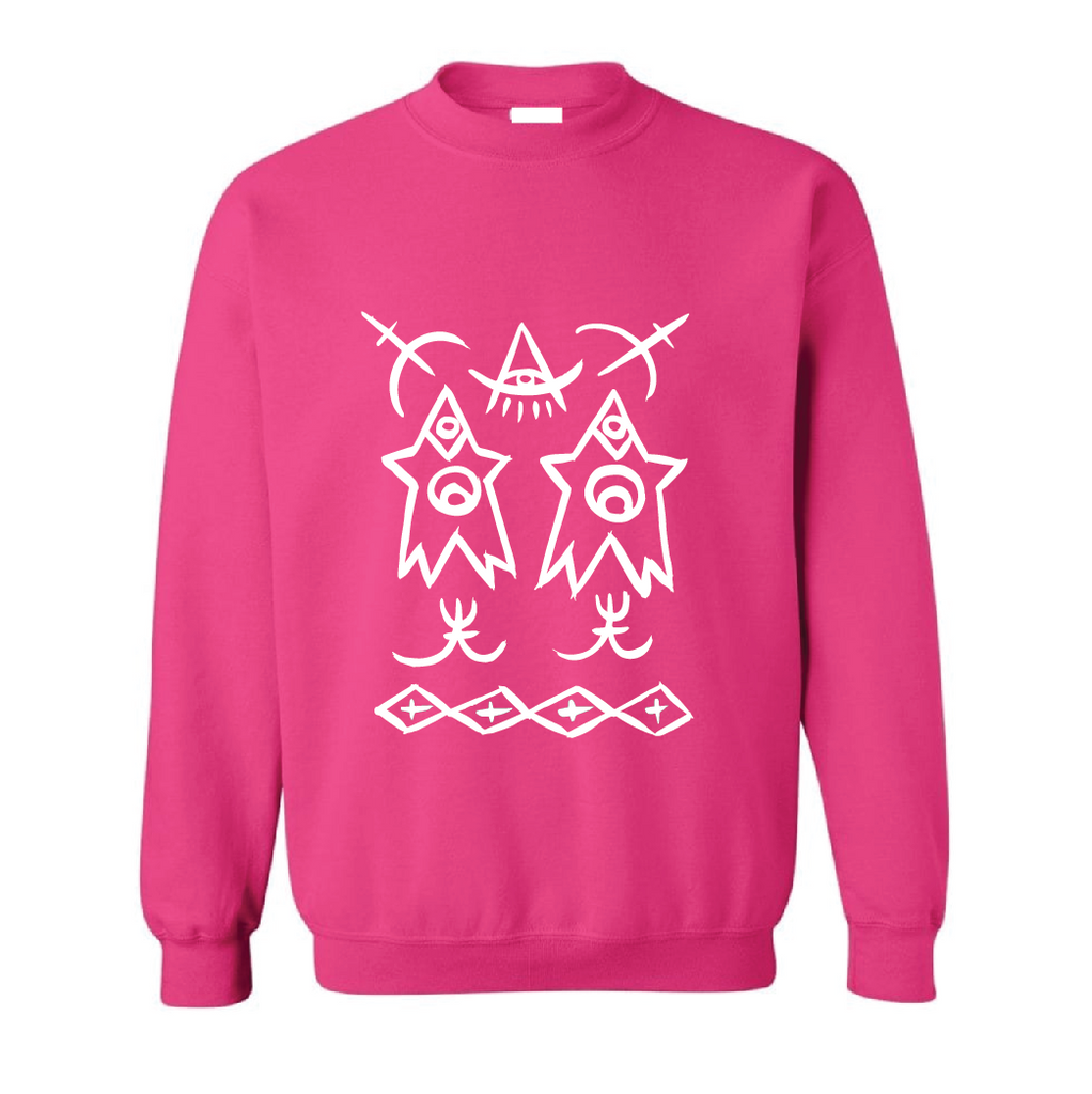YOUTH KIDS Celebrated Purpose Sweatshirt - Hot Pink