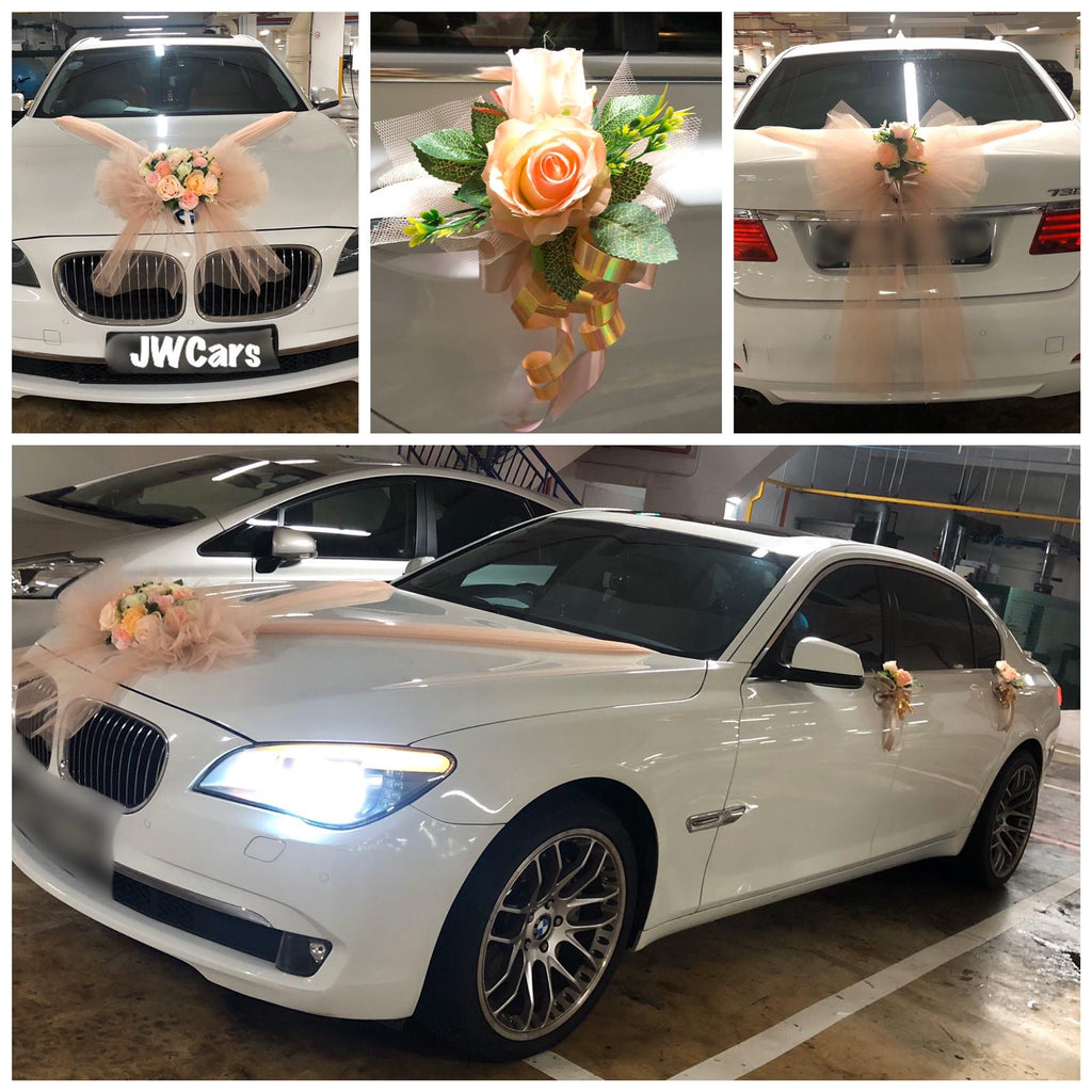 Bridal car BMW 730i
