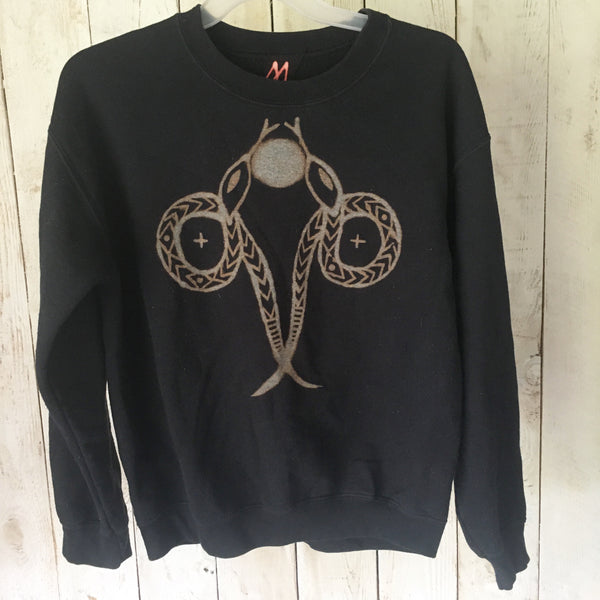 Snake + Moon Sweatshirt