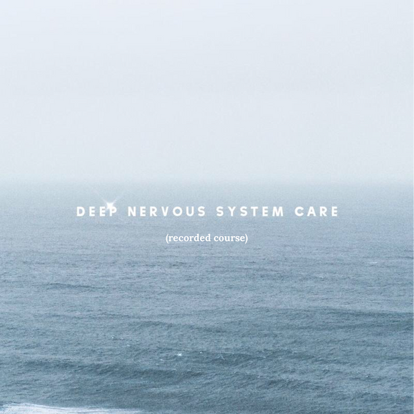 Deep Nervous System Care - (recorded course)