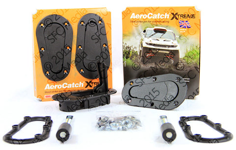Aerocatch Extreme Black Non-Locking 120 Series