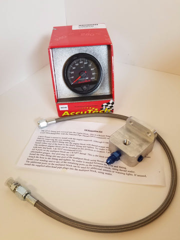 Longacre Oil Pressure Gauge Bundle