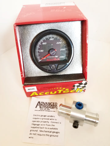 Longacre Water Temperature Gauge Bundle