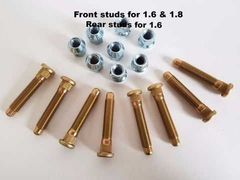 Enduro Long Stud Kit (package of 8)