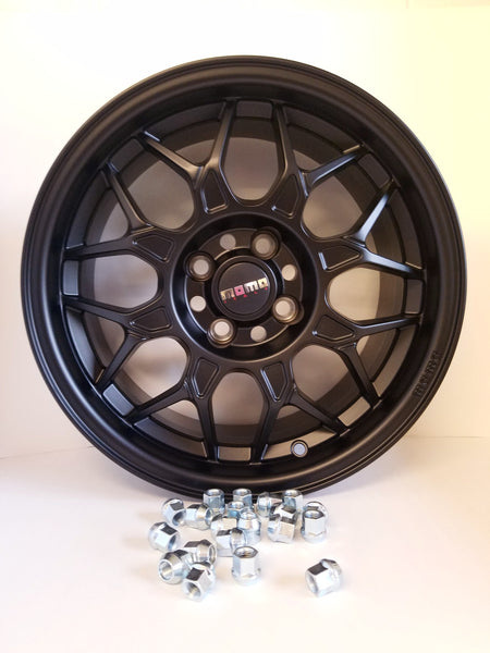 Momo Wheel/Matte Black