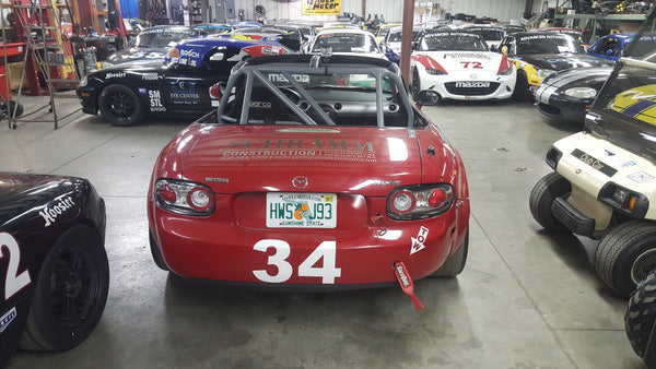 2006 T4 SCCA MX-5 Miata #34 and 24' Trailer