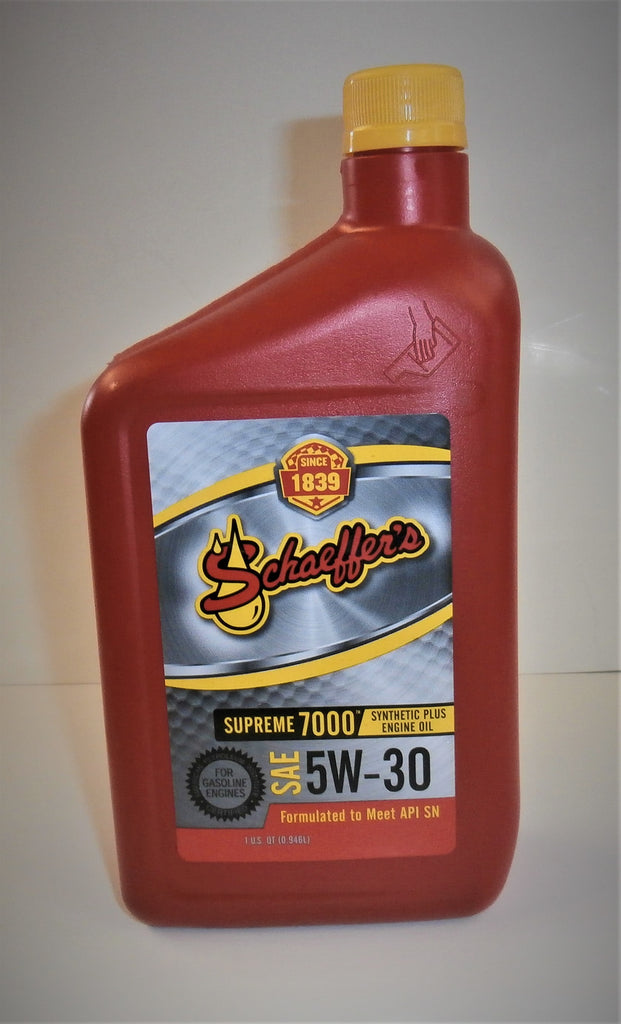 Schaeffer Super 7000 5w30 Street Oil Quart