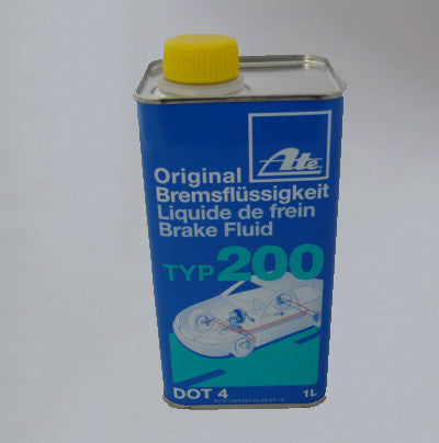 ATE type 200 amber brake fluid