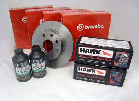 Hawk Blue - Brake & Rotor Bundle