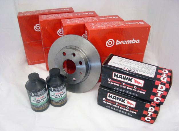 Hawk DTC - Brake & Rotor Bundle