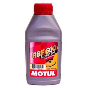 Motul RBF 600 Dot 4 Racing Brake Fluid 1 Pint