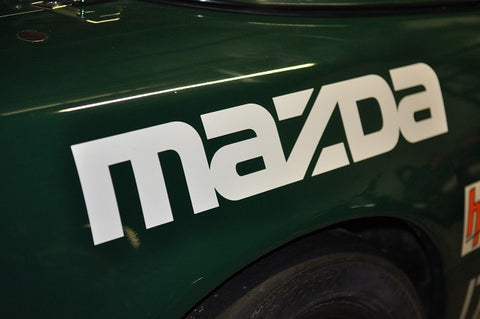 Rear MAZDA Decals