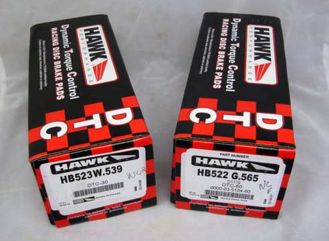 Hawk DTC-60/DTC-30 2006-2015 MX-5 Miata Brake Pads