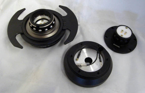 "NRG Gen3.0 Ball/Lock 1"" setback Quick Release Steering Wheel Kit"