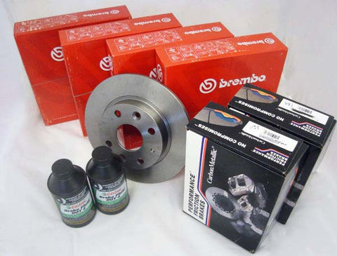 Performance Friction Brake Rotor Package