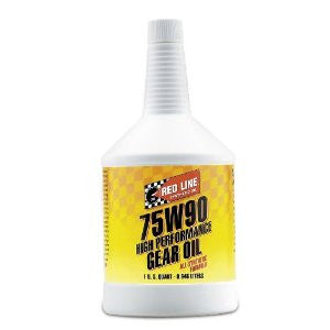 Redline 75W90 High Performance Gear Oil  Quart or By the Case