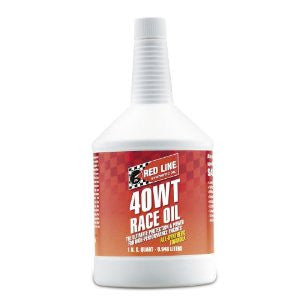 Redline 40WT Racing Oil  Quart or By the Case