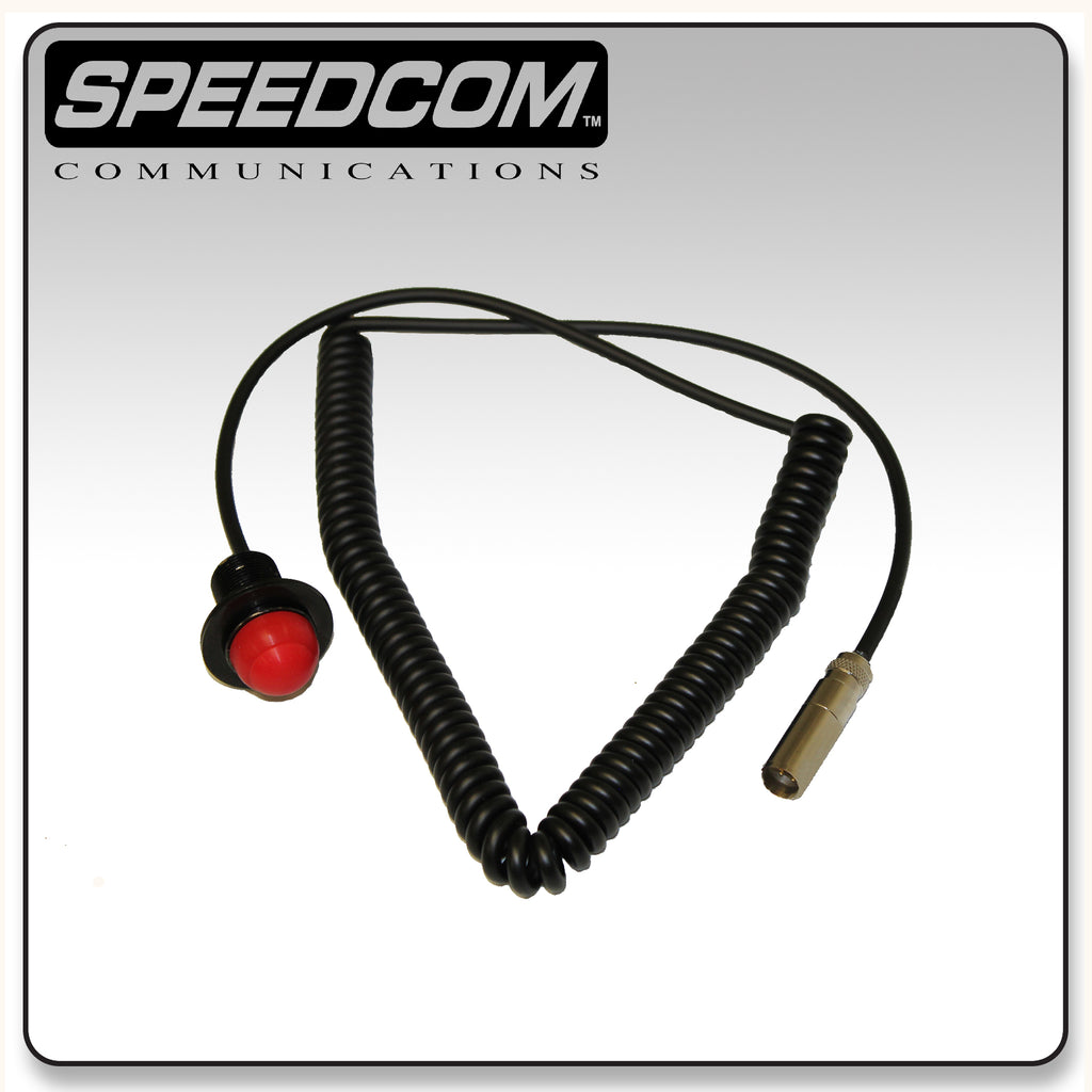 Speedcom Hole Mount Push to Talk Button