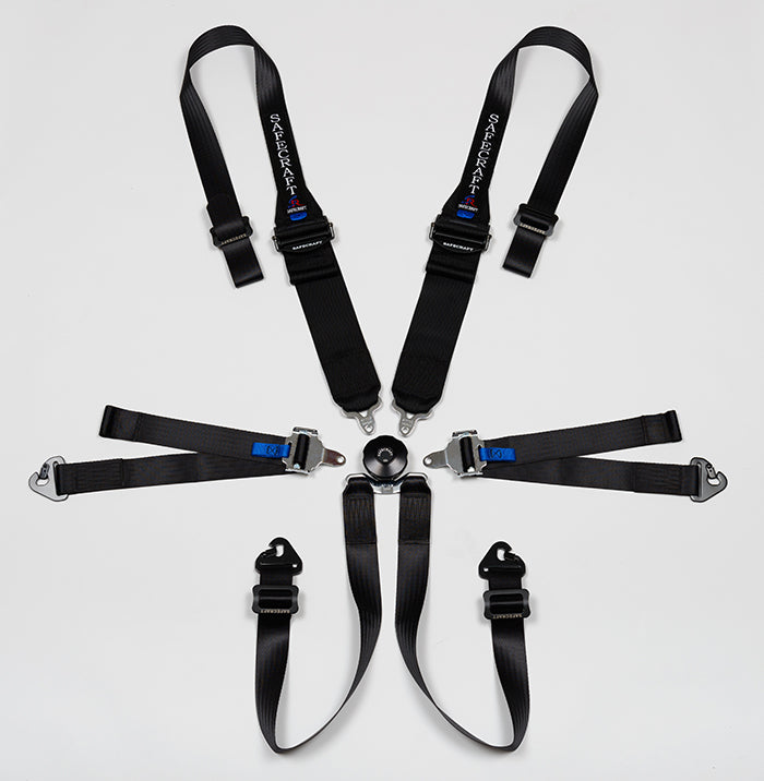 Safecraft 5010 Safety Harness - SFI certified - Black